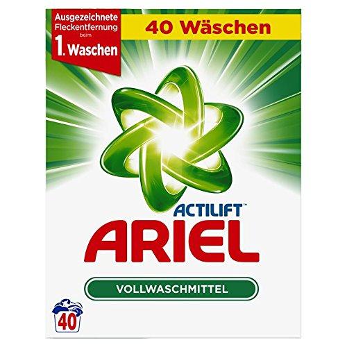 Ariel Vollwaschmittel Pulver, 40 Waschladungen