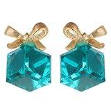 Dadu Diamonds Glossy Ribbon Designer Blu...