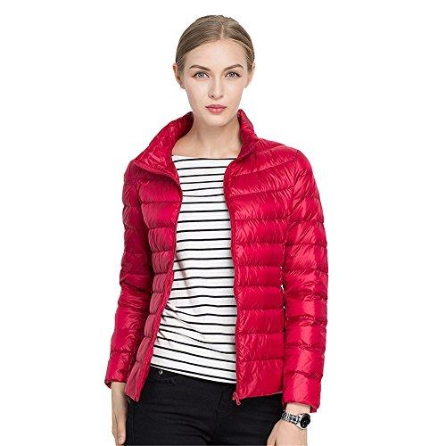 Quibine Doudoune Ultra Léger Femme Manteau Chaud d'hiver en Du