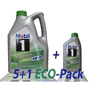 1 L + 5 L = 6 Liter Mobil 1™ ESP Formula 5W-30 Motor-Öl