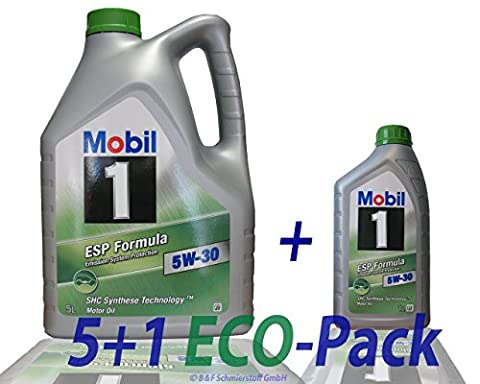 1 L + 5 L = 6 Liter Mobil 1™