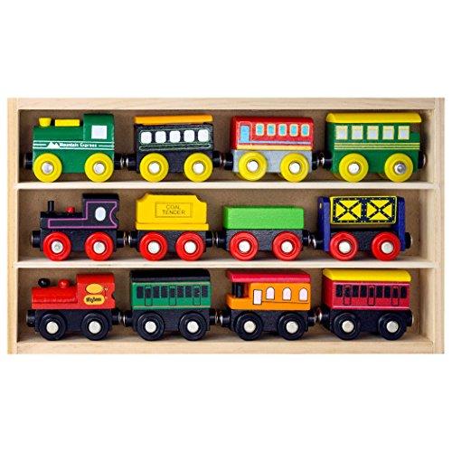 playbees-12-teile-eisenbahnwagen-und-lokomotiven-aus-holz-passt-zu-thomas-wooden-railway-brio-chuggi