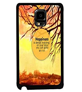 PRINTVISA Quotes Life Case Cover for Samsung Galaxy Note Edge