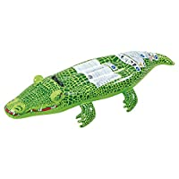 Jilong Crocodile Rider - swimming crocodile with handle, 142x68 cm