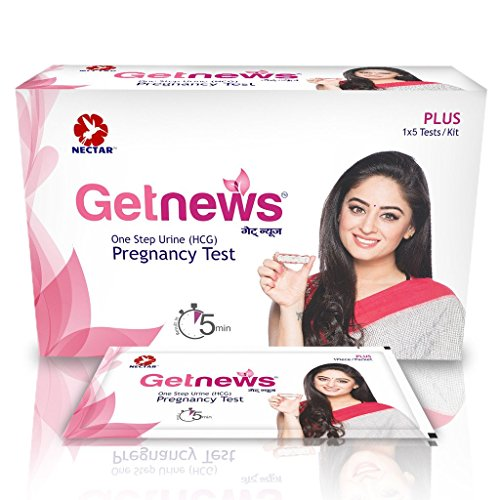 Neclife Paper Getnews One Step Pregnancy Test- Pack of 3 Tests