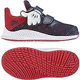adidas Unisex Baby DY Mickey Fortarun Cloudfoam Sneaker Rot (Scarle/Vivred/Ftwwht) 21 EU