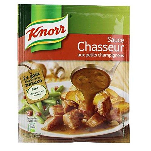 Knorr Soße kleine getrocknete Pilze 23g - ( Einzelpreis ) - Knorr sauce chasseur aux petits champignons déshydratée 23g Sauce Chasseur