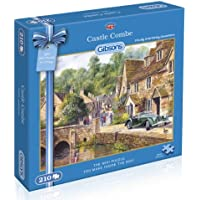 Gibsons Castle Combe Mini Jigsaw Puzzle (210 Pieces)