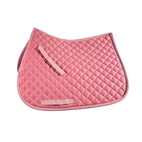 netproshop Satteldecke Schabracke Vielseitigkeit für Mini Shetty, Shetty und Pony Auswahl, Groesse:Mini Shetty, Farbe:rosa