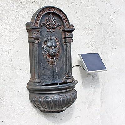 CLGarden Solar Wandbrunnen NSP8 Springbrunnen mit Solarpumpe Solarbrunnen von CLGarden auf Du und dein Garten