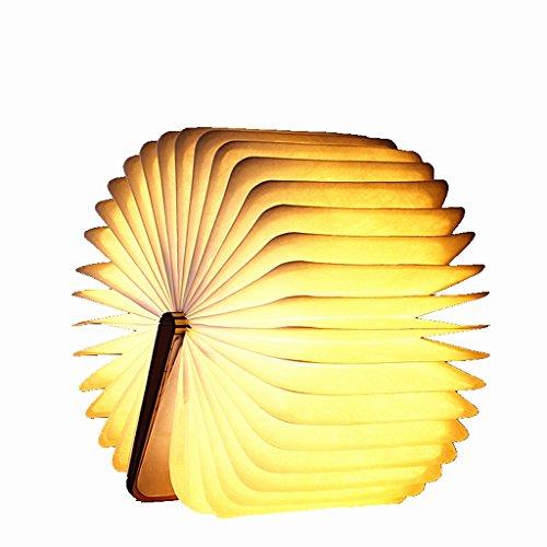 Lampe De Bureau Pliante 4 Couleurs LED Livre Lumière USB Charge Night Light Chevet Lampe De Table Décorative 22 Cm * 16 Cm (8.6inch * 6.3inch)