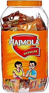 Dabur Hajmola Jar - 150 Sachets (Regular)