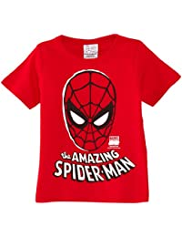 Logoshirt Boy's Kids Marvel The Amazing Spider Man Mask T-Shirt