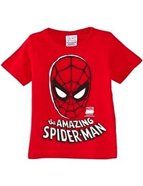 Logoshirt Kids Shirt Marvel-the Amazing Spider-man Mask - Camiseta Niños