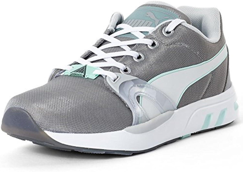 Puma XT S Matt  Shine Herren Sneakers  Grau  Größe 40 1/2