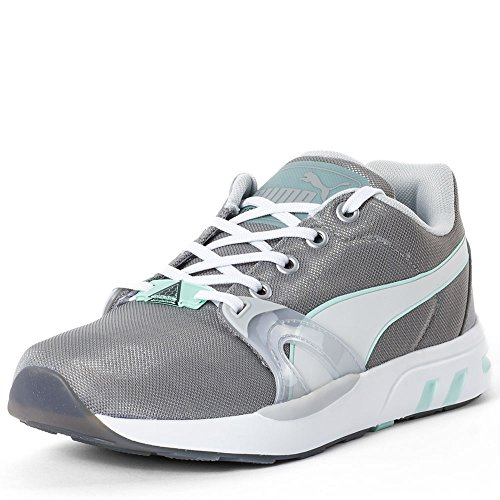 Puma XT S Matt & Shine, Baskets Basses Femme Drizzle-Gray-Fair Aqua