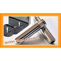 In alluminio Porta türpins per Skoda Octavia Fabia pinne–Pins–alluminio 2pezzi