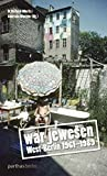 War jewesen: West-Berlin 1961-1989