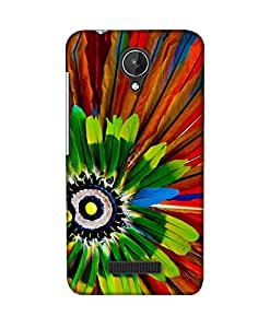 PickPattern Back Cover for Micromax Canvas Spark Q380