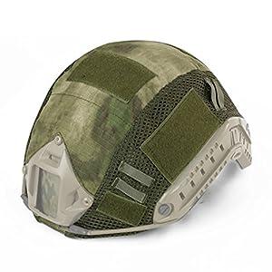 Casque tactique rapide de combat militaire de camouflage de couverture pour le type MH / PJ Casque rapide Airsoft Paintball chasse équipement de tir