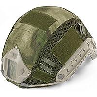 Decho-C - Casco táctico militar de combate rápido para casco de camuflaje para MH/PJJ, tipo casco rápido, airsoft, paintball, caza, tiro, FG
