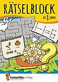 Rätselblock ab 8 Jahre: Kunterbunter Rätselspaß: Labyrinthe