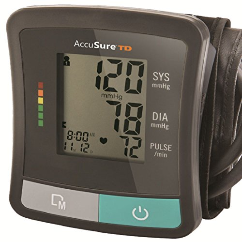 Accusure TD Blood Pressure Monitoring System With Upper Arm Standard Cuff