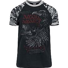Amon Amarth Raven T-Shirt schwarz/camo