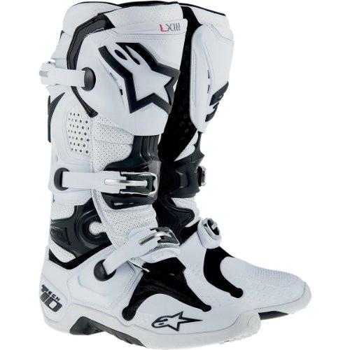 Alpinestars , Chaussures de randonnée montantes pour femme weiss-rot-blau US 11 (EU 45.5) - weiss-perforiert