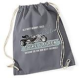 Siviwonder Turnbeutel - GOTT besten TRIKE fahren vintage Bike NO Fußball Dreirad Motorrad -...