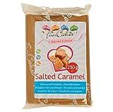 Geschmacksfondant, Rollfondant Salted Caramel 250g, FunCakes