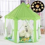 Kinderzelt, kinderspielzelt,Prinzessin Castle Spielzelt, Kinder Nook Zelte für Indoor & Outdoor Use, Tragetasche, Baby Geburtstagsgeschenk, Für Kinder im Alter unter 10 Jahren (Grün)