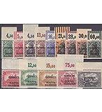 Goldhahn Allenstein Nr. 1-14 postfrisch ** Oberrandsatz Briefmarken für Sammler