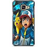 Coque Samsung Galaxy A5 2017 (Version A520) Pokemon go team pokedex Pikachu Manga valor mystic instinct case