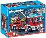 Playmobil - Camión de bomberos con escalera (4820)