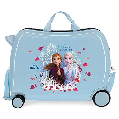 Trolley per bambini Trust your journey con ruote multidirezionali Frozen II