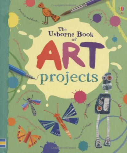 Mini Art Projects (Usborne Activity Books)
