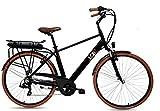 LLOBE E-Bike City Herren Metropolitan Gent, 28 Zoll, 7 Gang, Heckmotor, 375 Wh 71,12 cm (28 Zoll)