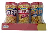#8: Parle Monaco Biscuits - Sixer, Cheeslings and Jeffs, 550g Gift Pack