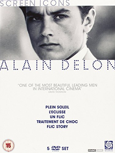 Bild von Alain Delon Collection - Screen Icons [5 DVDs] [UK Import]