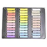 36 Farben atemberaubendes Haarkreide Set Farben zum Färben Haarsalon Qualität