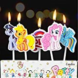 #1: Party Propz My Little Pony Candle For Birthday