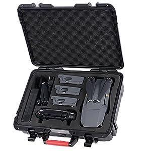 HuiShuTek Valise de Transport pour DJI Mavic Pro/Platinum Bagage à Main Imperméable à Eau IP67
