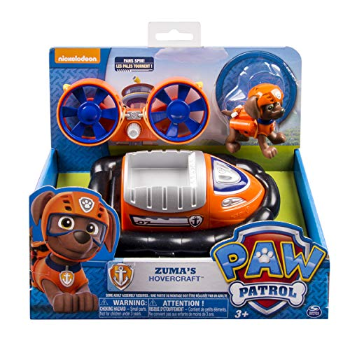Paw Patrol 6027637 - Paw Basic Vehicles - Zuma, Luftkissenboot