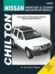 Chilton's Nissan Frontier & Xterra 2005-08 Repair Manual