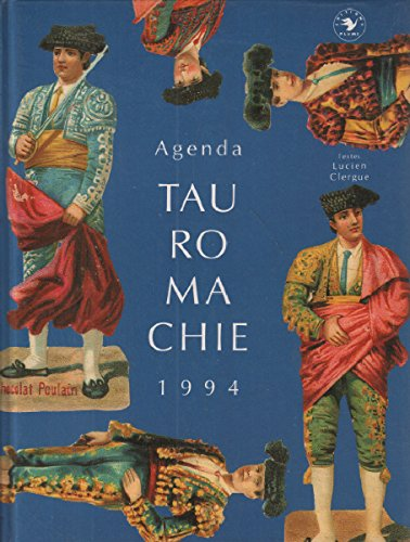 Agenda tauromachie, 1994 par Lucien Clergue