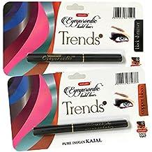 K-Veda Combo Eyeyurvedic Kohl Liner Trendz (Black Shimmer, Copper Blaze)