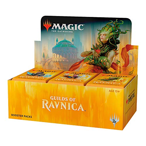 Magic The Gathering MTG-GRN-BD-EN Guilds of Ravnica Booster Display mit 36 Packungen, Mehrfarbig (Magic Karten Booster Box)