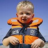 Soles Up Front 100N Spirale Baby Kind Kleinkind Schwimmweste mitnehmen. Größen für Erwachsene auch. Für Kinder  - Orange/Navy
