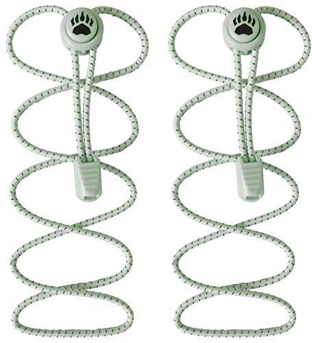 Bearformance Cordones sin nudos - Cordones elásticos con cierre rapido - Cordones de bloqueo para zapatillas...